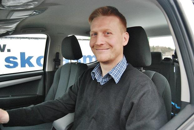 František Voříšek prodejce specializovaný na značku ISUZU ve společnosti ProScan z Jičína (foto: Zdeněk Nesveda)
