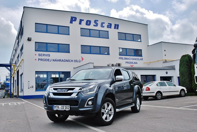 ProScan autorizovaný prodejce ISUZU, první v Česku představil D - MAX  svým zákazníkům (foto: Zdeněk Nesveda)