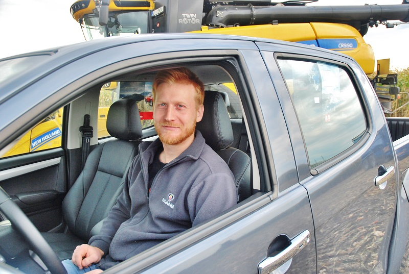 František Voříšek, prodejce ISUZU (foto: Zdeněk Nesveda)