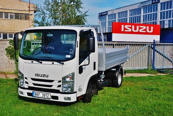 ISUZU – M21 ADAPTOR 1.9l euro 6b třístranný sklápěč OSONA (foto: Zdeněk Nesveda)